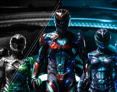 The 90's Power Rangers are back on the big screen