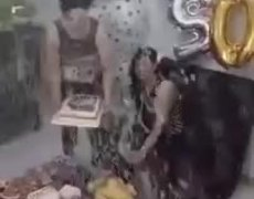#VIRAL: Iranian birthday party on fire