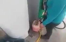 Gasolinera que no da litros completos en la Álvaro Obregón
