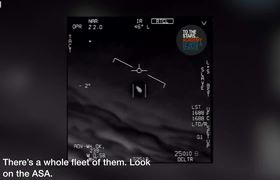 #UFO spotted by US fighter jet pilots, new footage reveals