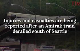 Multiple Casualties And Injuries Reported As #Amtrak Train Derails Near Seattle