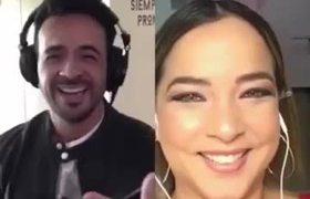 Sorprende el dueto entre Adamari López y Luis Fonsi (VIDEO)