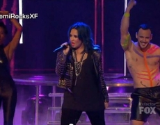 The X Factor USA 2013 Demi Lovato Neon Lights