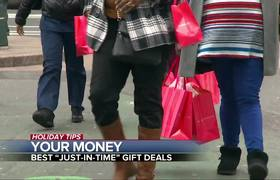 Crunch time for holiday shoppers