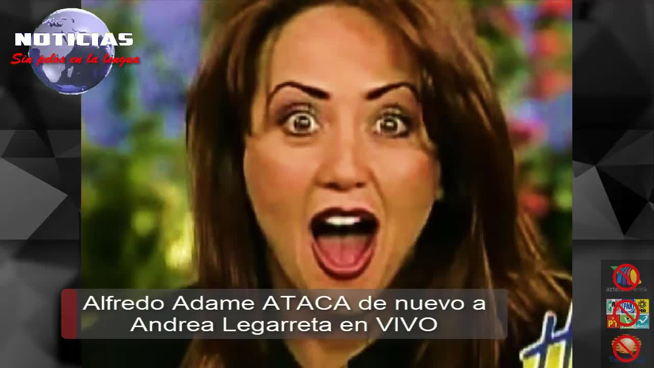 Andrea Legarreta Xvideos alfredo adame ataca verbalmente a andrea legarreta