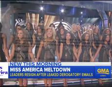 Raw - Former Miss America speaks out after leaders resign over derogatory emails