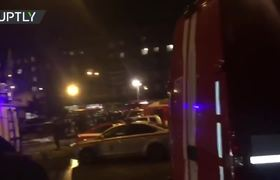 At least 10 injured after an explosion in St. Petersburg