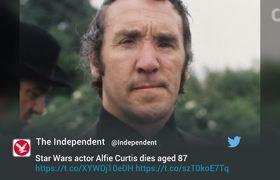 Mos Eisley Scumbag in 'Star Wars,' Dies at Age 87