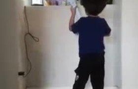 little boy sing heartbreaking Disney tribute to baby Sister