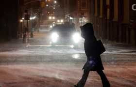 Powerful 'Bombogenesis' Snowstorm Slams Eastern U.S.