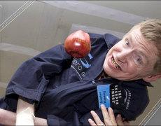 La comedia le va muy bien a Stephen Hawking