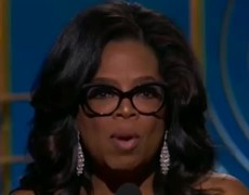 2018 Golden Globes - Oprah: 'Nobody ever has to say #metoo again'