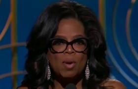 2018 Golden Globes - Oprah: 'Nobody ever has to say #metoo again'