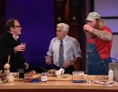 The Tonight Show with Jay Leno Fry It Try It with Jim Stacy Quentin Tarantino