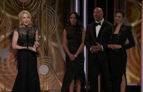 #2018GoldenGlobes: Nicole Kidman Wins Best Actress in a Limited Series