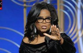 Piden a Oprah como Presidente en Twitter por discurso en los Golden Globes 2018