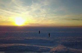 #VIRAL: Que locura! Un Oceano completamente congelado