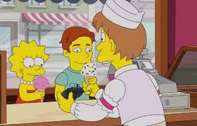 The Simpsons: Nelson & His Crew Raid The Ice Cream Store | Season 29 Ep. 10
