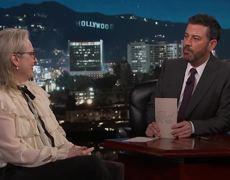 Jimmy Kimmel Live: Meryl Streep Fails Oscar Quiz About Herself