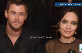 Llaman 'rompehogares' a Angelina Jolie por esta foto en los Golden Globes