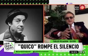 """Florinda Meza acosó a Carlos Villagrán mientras grababan """"El Chavo del 8"""""""