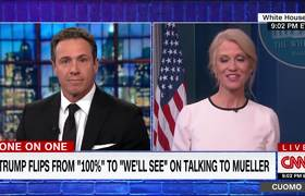 Kellyanne Conway: Nobody here talks about Clinton