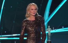 SAG Awards 2018: Nicole Kidman: Acceptance Speech   24th Annual SAG Awards