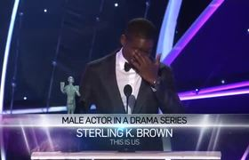 SAG Awards 2018: Sterling K. Brown: Acceptance Speech | 24th Annual SAG Awards