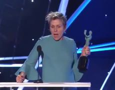 SAG Awards 2018: Frances McDormand: Acceptance Speech | 24th Annual SAG Awards