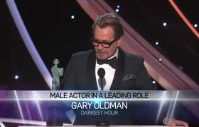 SAG Awards 2018: Gary Oldman: Acceptance Speech | 24th Annual SAG Awards