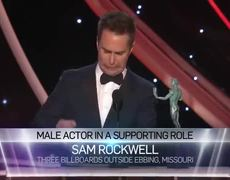 2018 SAG Awards: Sam Rockwell: Acceptance Speech | 24th Annual SAG Awards