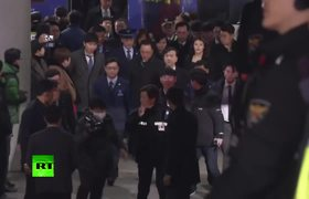 North Korean pop singer arrives in the South to check out Olympic art venues
