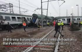 Commuter Train Derails Near Milan Killing At Least 3