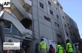 South Korea Hospital Fire Kills Dozens