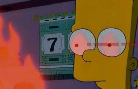 Lo que podria suceder en 2018 según en Los Simpsons