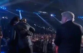 Grammys - Kendrick Lamar & Rihanna Acceptance Speech Best Rap/Sung Performance
