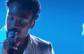 Childish Gambino (Donald Glover) Terrified 2018 60th Grammy Awards