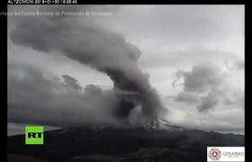 Volcán Popocatépetl registra dos fuertes explosiones