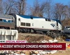 Train Taking GOP Lawmakers To Retreat Hits Garbage Truck
