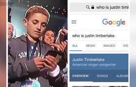 'Selfie Kid' STEALS Justin Timberlake's Spotlight During Super Bowl