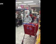 #VIRAL: Elderly man shows off his dancing skills in supermarket