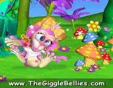 The GiggleBellies Five Little Monkeys Jumping on the Bed Nursery Rhyme withThe GiggleBellies mus
