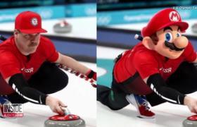 U.S. Olympic Curler Looks Just Like #SuperMario