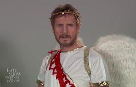 Colbert - Liam Neeson's Cupid Audition