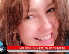 FOTO DE THALÍA SIN MAQUILLAJE