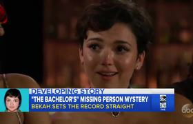 'Bachelor' contestant reported missing speaks out after elimination