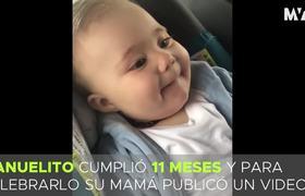 Anahí y las risas matutinas con su hijo Manuel