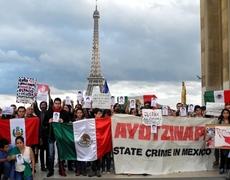 Solidaridad Internacional a los normalistas desaparecidos de Ayotzinapa