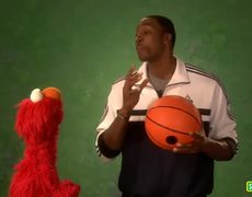 Elmo and Dwight Howard make a Strategy