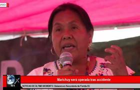 MARICHUY SERÁ OPERADA TRAS ACCIDENTE CARRETERO
